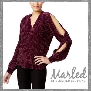 MARLED REUNITED CLOTHING Chenille Sweater